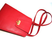 Red Leather Kellie bag – a true, elegant classic