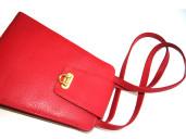 Red Leather Kellie bag – a true, elegant classic