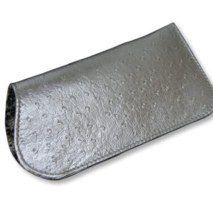 silver glasses case