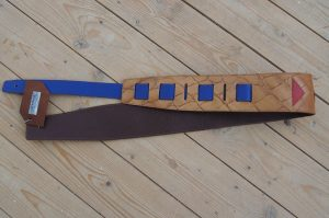 Navajo Geometric Guitar Strap